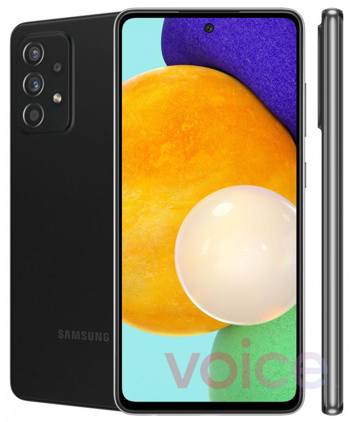 """Первые """"официальные"""" пресс-фото Samsung Galaxy A52 5G и Galaxy A72 5G"""