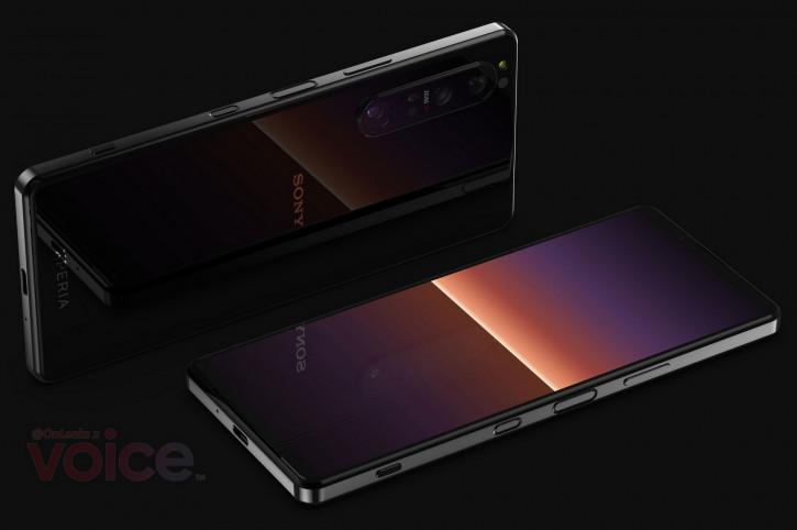 Sony Xperia 1 III на качественных рендерах и много технических деталей