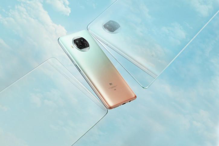 """Xiaomi Mi 10i: """"идеальная десятка"""" в трех цветах на видео и живых фото"""