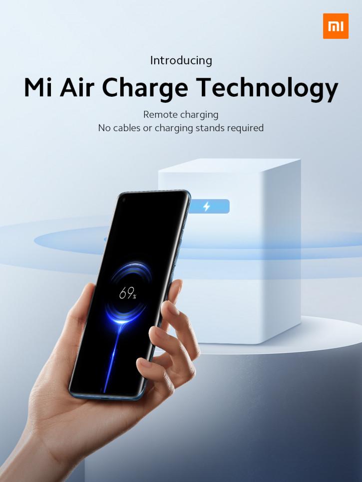 Xiaomi представила Mi Air Charge – беспроводную зарядку на расстоянии