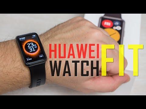 Видео обзор. Huawei Watch Fit - почти смарт-часы, больше чем фитнес браслет!
