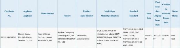 Первые детали о флагманском планшете Huawei MatePad Pro 2