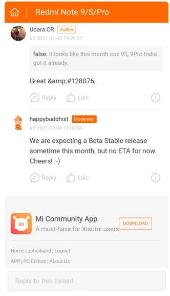 Redmi Note 9 Pro получит Android 11 в этом месяце