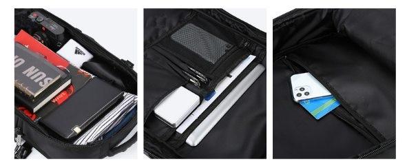 Выбираем мужской рюкзак для ноутбука с отдельным местом под фотоаппарат