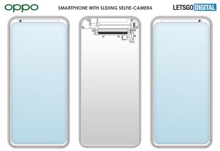 OPPO готовит смартфон с уникальной фронтальной камерой