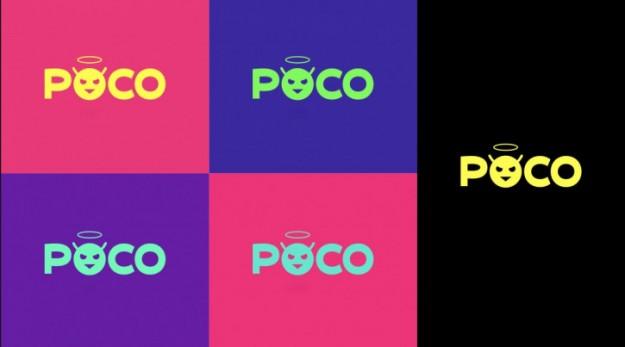 Новый логотип Poco — это эмодзи-чертенок с нимбом