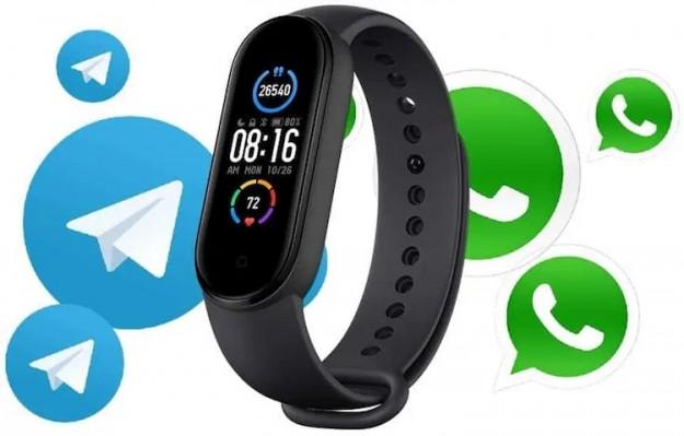 Xiaomi Mi Band 6 позволит отвечать на сообщения в WhatsApp, Telegram и других мессенджерах