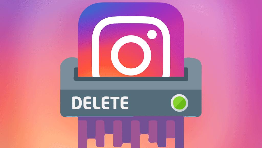 Способы удалить аккаунт в Instagram