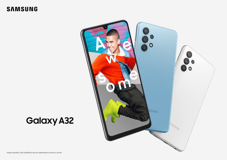 Цена Samsung Galaxy A32 в России
