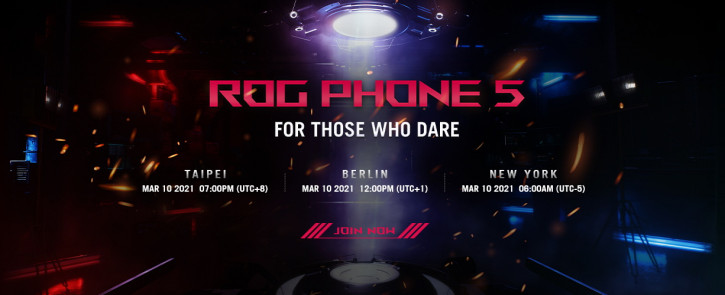 Для самых смелых! Дата анонса ASUS ROG Phone 5