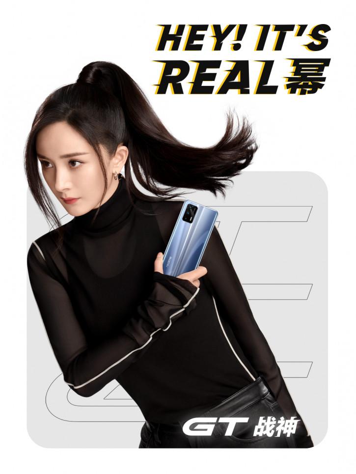 Флагманский Realme GT впервые на официальных изображениях [видео]