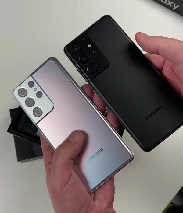 Наша быстрая распаковка Samsung Galaxy S21 Ultra на Snapdragon 888