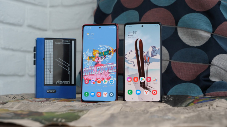 """ВИДЕО: обзор двух Samsung Galaxy S20 FE - """"фанаты"""" будут недовольны"""