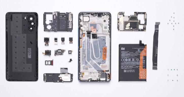 Xiaomi Redmi K40 и K40 Pro разобрали и собрали на видео