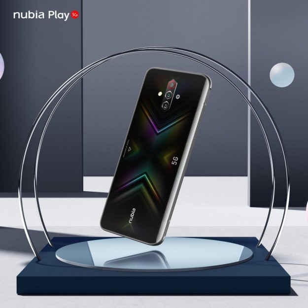 ZTE выводит на украинский рынок суб-бренд Nubia и геймерский смартфон Nubia Play 5G