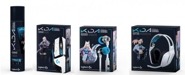 Коллекция K/DA, первая серия игровых устройств Logitech G, официально лицензированных League of Legends, теперь доступна по всему миру