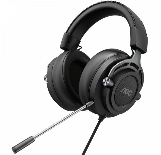 AOC представила игровые гарнитуры GH200 и GH300: геймерский звук нового уровня
