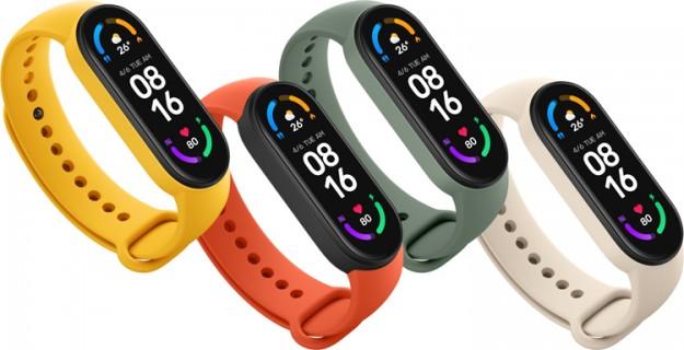 Xiaomi представила фитнес-браслет Mi Band 6 с увеличенным экраном, датчиком кислорода в крови и ценой от