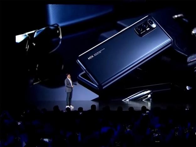Xiaomi представила свой первый складывающийся смартфон  Mi MIX FOLD