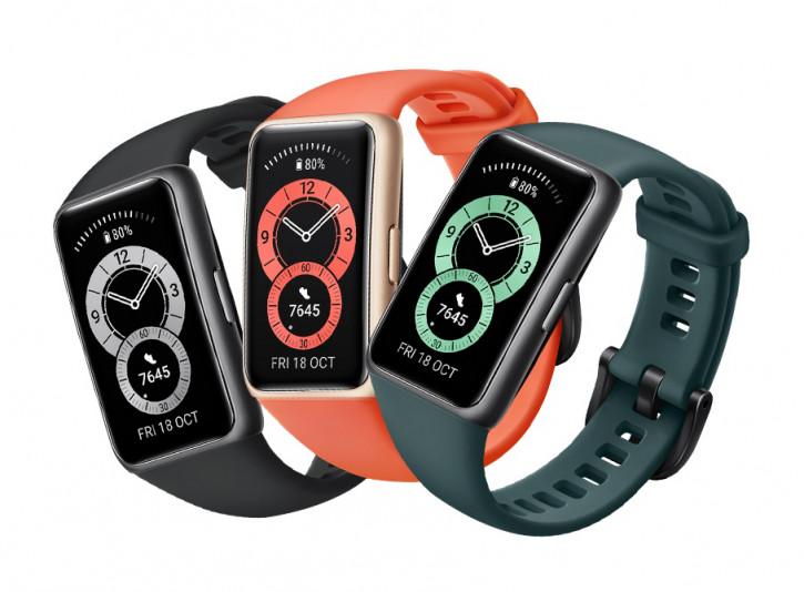 Анонс Huawei Band 6 – фитнес-браслет на максималках