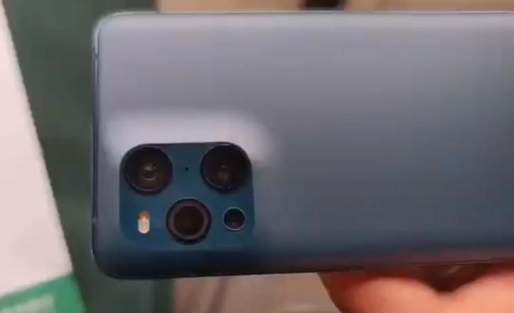 """""""Горбатый"""" OPPO Find X3 Pro показали на живом видео"""