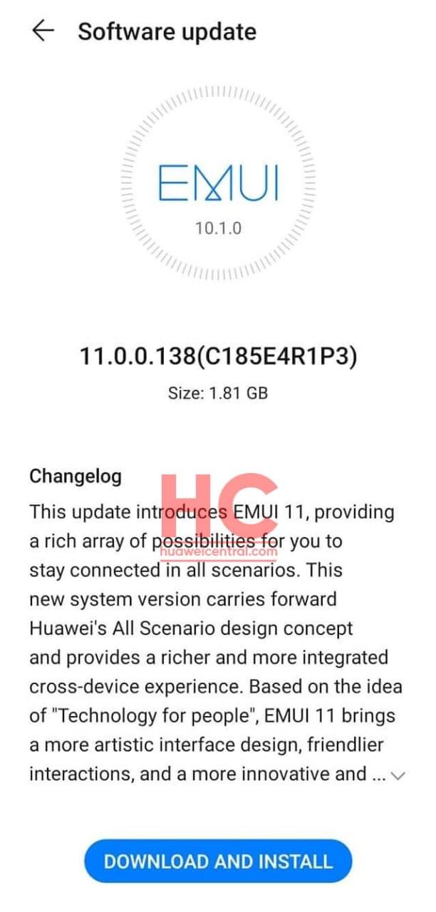 Huawei обновляет международные P30 и P30 Pro до EMUI 11