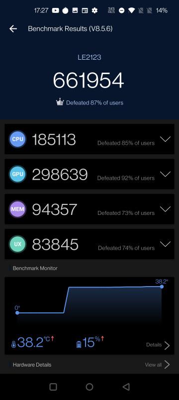 На этот раз без рекордов: OnePlus 9 Pro показал возможности в AnTuTu