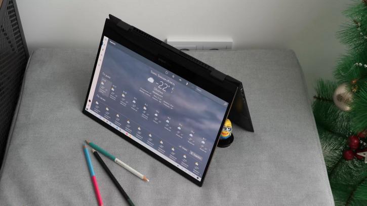 Обзор ASUS ZenBook Flip S: ультрабук-трансформер с OLED-дисплеем