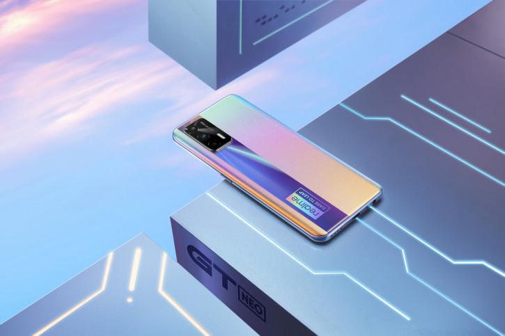 Realme показала игровой флагман GT Neo на фото и видео