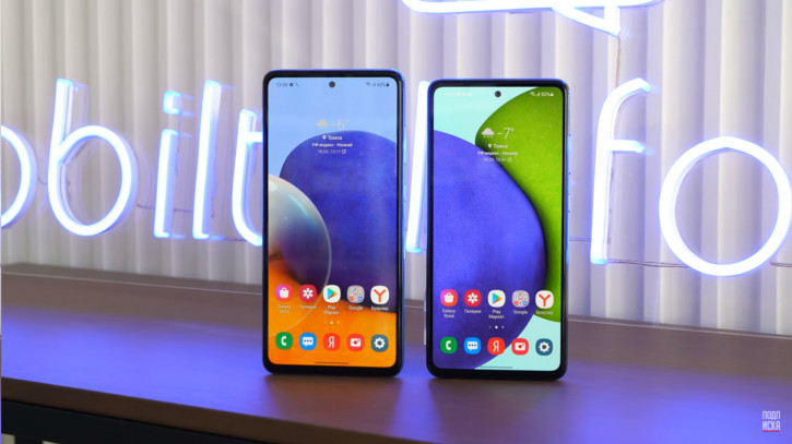 ВИДЕО: Samsung Galaxy A52 и A72 - сильные смартфоны со слабым чипсетом