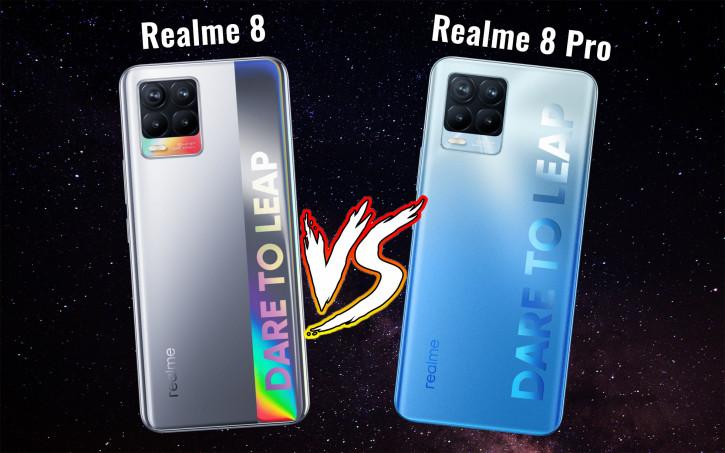 Все отличия Realme 8 и Realme 8 Pro: какой выбрать?