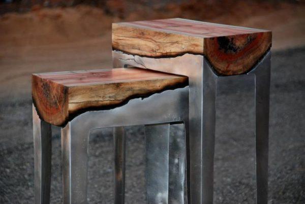 Мастерская мебели из дерева и металла