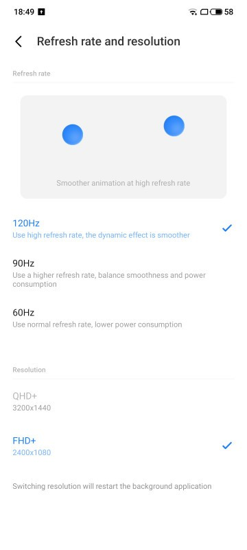 Он обновляется! Meizu 18 Pro теперь с QHD+ на 120 Гц