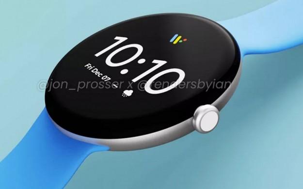 Умные часы Google Pixel Watch во всей красе - рендеры