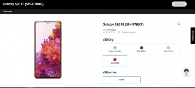 Официально: Samsung Galaxy S20 FE 4G уходит с Exynos на Snapdragon 865