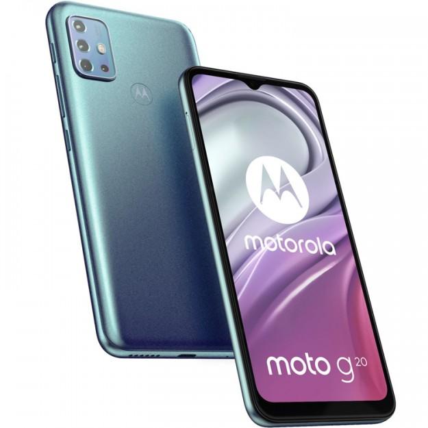 Недорогой смартфон Moto G20 предстал на новых пресс-изображениях