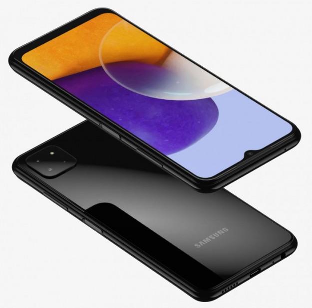 Самый недорогой 5G-смартфон Samsung на рендерах и 3D-модели
