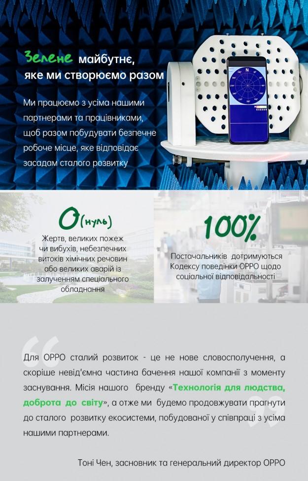 Создание устойчивой экосистемы: роль OPPO как ответственного мирового бренда