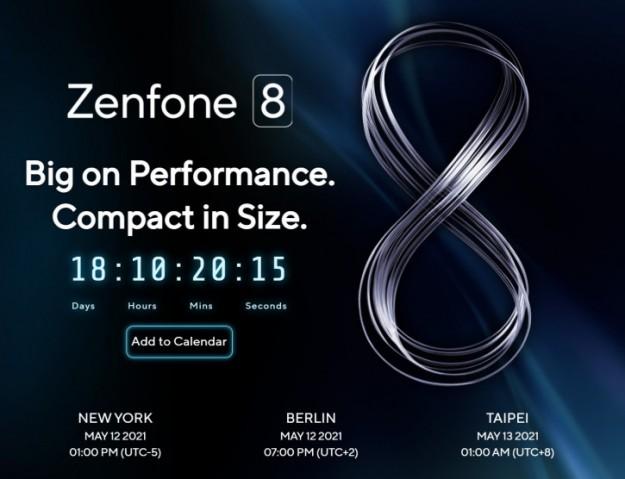 Официально: ASUS Zenfone 8 и Zenfone 8 mini покажут в мае