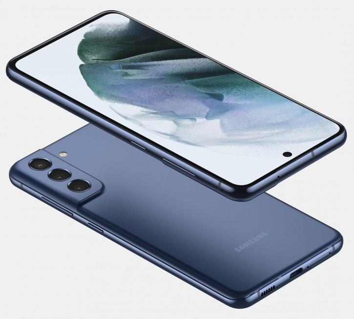 Samsung Galaxy S21 FE впервые предстал во всей красе на рендерах