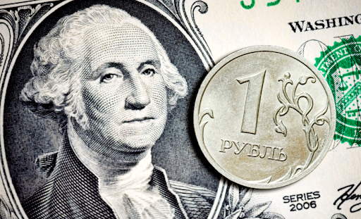График доллара к рублю онлайн
