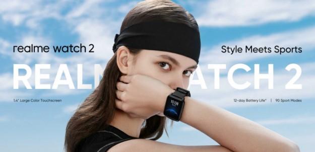 Анонс Realme Watch 2 – больше яркости, функций, автономности