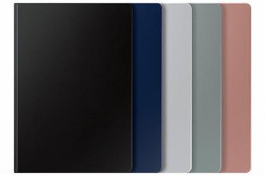 Так выглядит Samsung Galaxy Tab S7 Lite с чехлом и стилусом