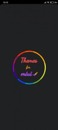 Установка тем через приложение Themes MIUI