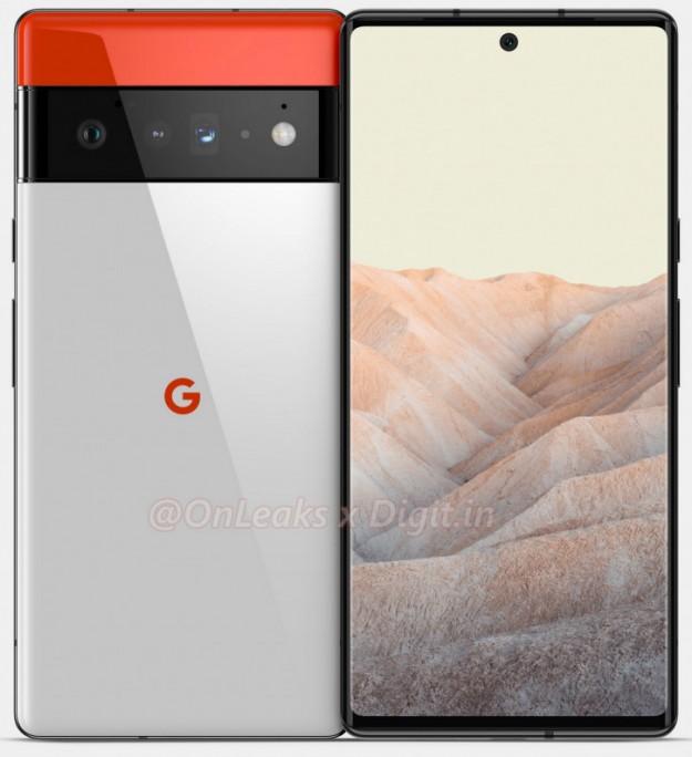Сделаем Google лучшей по фото снова! Больше рендеров Pixel 6 Pro