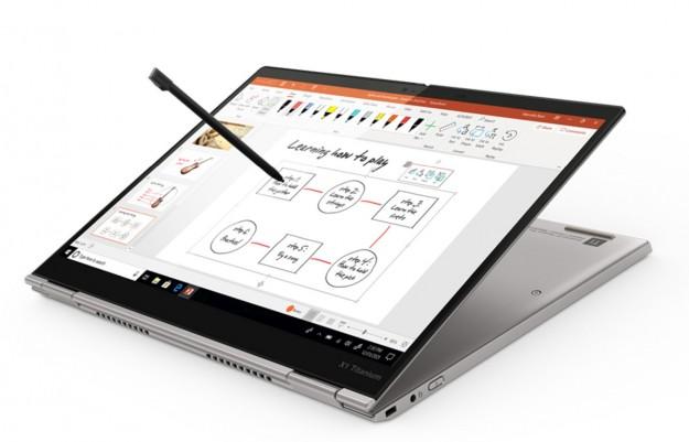 Самый тонкий ноутбук ThinkPad X1 Titanium YOGA от Lenovo теперь в Украине