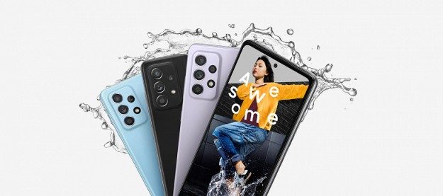 Новенькие непромокаемые Samsung Galaxy A52 получили улучшения камеры и эффекты для видеозвонков