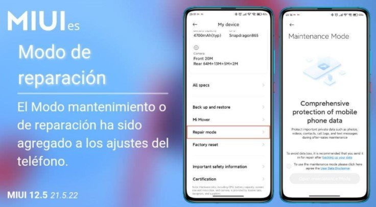 Xiaomi запускает новый режим ремонта для своих смартфонов