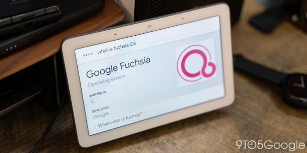 Google выпустила долгожданную Fuchsia OS