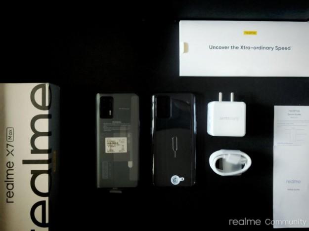 Официальная распаковка Realme X7 Max до анонса на фото